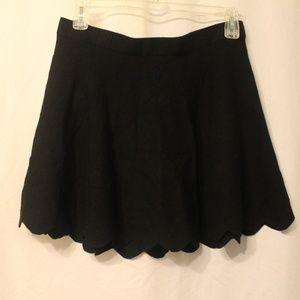 CANDIE'S Scalloped Skater Skirt